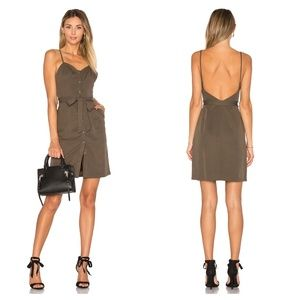 LOVERS + FRIENDS - NWT Marina Dress - Olive